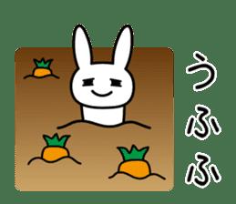 Silly Rabbit sticker #1135581