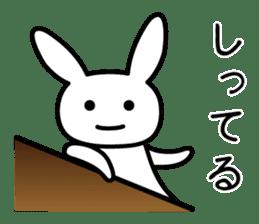 Silly Rabbit sticker #1135583