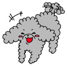The lonely puppy sticker #1136083