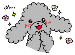 The lonely puppy sticker #1136089
