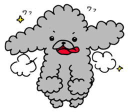 The lonely puppy sticker #1136096