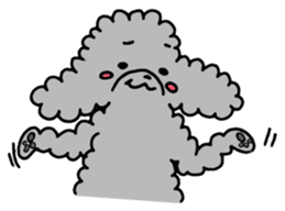 The lonely puppy sticker #1136102