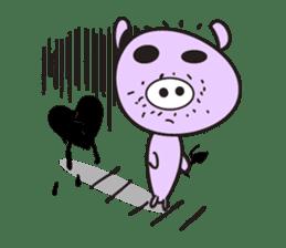 Piglet - Phoebe sticker #1136508