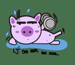 Piglet - Phoebe sticker #1136510