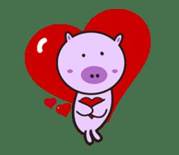 Piglet - Phoebe sticker #1136512