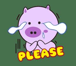 Piglet - Phoebe sticker #1136519
