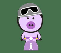 Piglet - Phoebe sticker #1136521