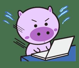 Piglet - Phoebe sticker #1136528