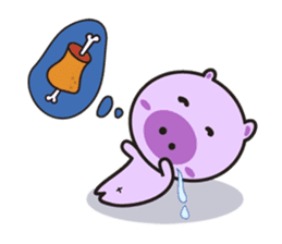 Piglet - Phoebe sticker #1136531