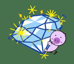 Piglet - Phoebe sticker #1136534