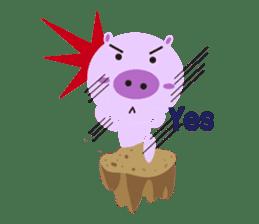 Piglet - Phoebe sticker #1136540