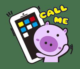 Piglet - Phoebe sticker #1136541