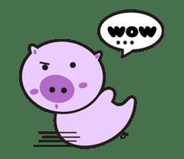 Piglet - Phoebe sticker #1136544