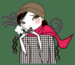 Miss C's Fashion Talk-2 sticker #1136591