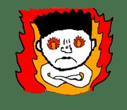 Pixel art boy. sticker #1136877