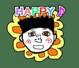 Pixel art boy. sticker #1136896
