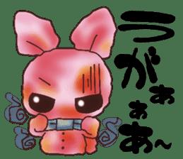 rabbit diary sticker #1137071