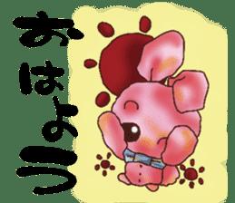 rabbit diary sticker #1137074