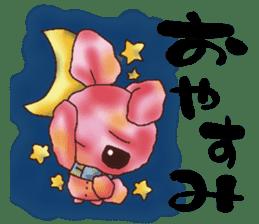 rabbit diary sticker #1137075