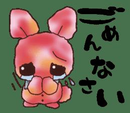 rabbit diary sticker #1137082