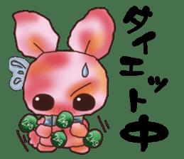 rabbit diary sticker #1137083