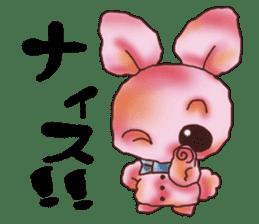rabbit diary sticker #1137088