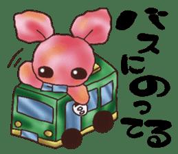 rabbit diary sticker #1137090