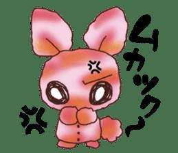 rabbit diary sticker #1137091