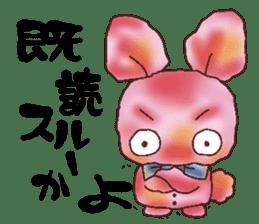 rabbit diary sticker #1137096