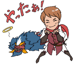The Adventure of courage and power sticker #1137273