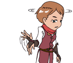 The Adventure of courage and power sticker #1137284