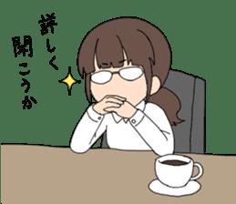 moe otaku girls sticker #1137792