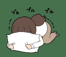 moe otaku girls sticker #1137799