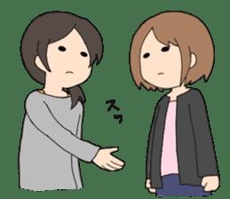 moe otaku girls sticker #1137818
