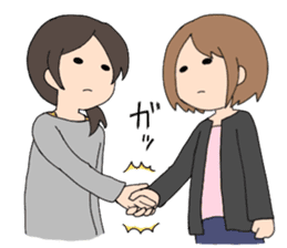 moe otaku girls sticker #1137819