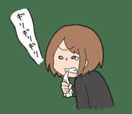 moe otaku girls sticker #1137824