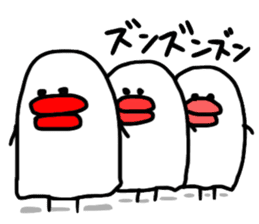 Lips man sticker #1139783