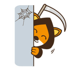 Popo and Friends Halloween Collection sticker #1140172