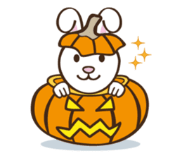 Popo and Friends Halloween Collection sticker #1140177