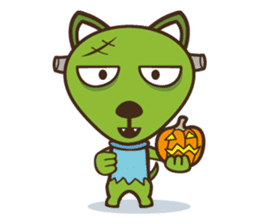 Popo and Friends Halloween Collection sticker #1140178