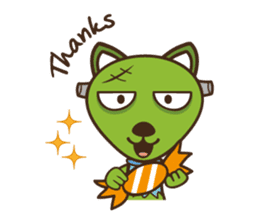 Popo and Friends Halloween Collection sticker #1140179