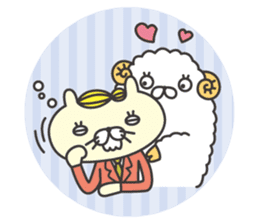 cat  businessman sticker #1140632