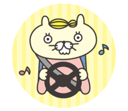 cat  businessman sticker #1140636