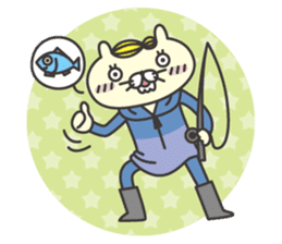 cat  businessman sticker #1140648