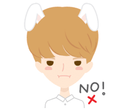 Deer Boy & friends sticker #1140840