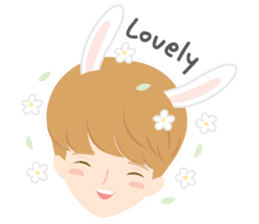 Deer Boy & friends sticker #1140842