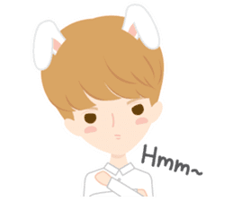 Deer Boy & friends sticker #1140844