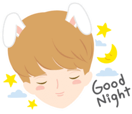Deer Boy & friends sticker #1140846