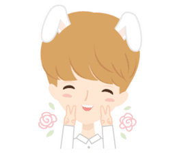 Deer Boy & friends sticker #1140848