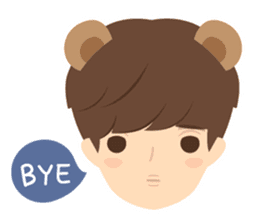 Deer Boy & friends sticker #1140850
